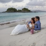 St. Thomas Beach Wedding