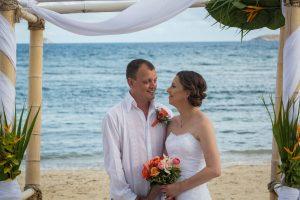 beach wedding in st thomas us virgin islands